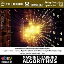 Machine Learning Algorithms - Video Training
