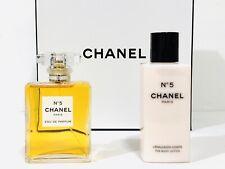 CHANEL No 5 PERFUME FOR WOMEN 2PC GIFT SET EDP SPRAY 3.4 OZ + B/L NEW IN BOX