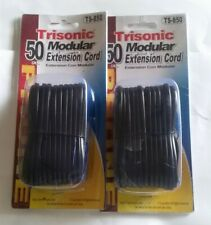 trisonic 50ft. phone modular extension cord