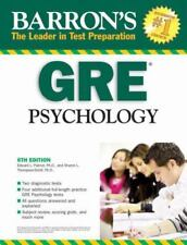 Barron's GRE Psychology: Graduate Record Examination in Psychology (Barron's: Th