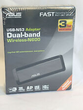 Asus USB-N53 Adapter Dual-Band Wireless-N600 New