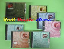 BOX 6 CD 50 ANNI DI MUSICA INTERNAZIONALE compilation BOB  DYLAN ELVIS (C10**)