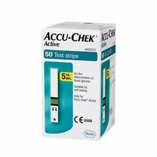 ACCU CHEK Active Test Strips Blood Medical 50 Sheets Diabetic Check Expire 11/21