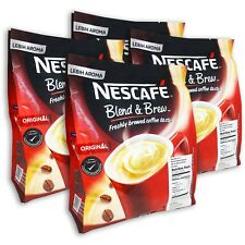 NESCAFE 3 in 1 Original Blend&Brew Instant Coffee 112 sticks(4-pack) BB 11/30/20