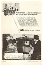 1948 vintage TV Ad Du Mont Television Look in very early TV studio 072916