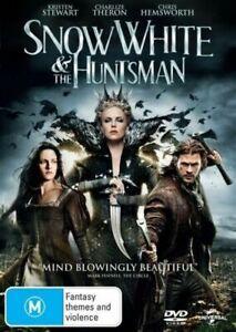 SNOW WHITE AND THE HUNTSMAN DVD KRISTEN STEWART REGION 4 NEW AND SEALED