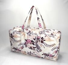 Knitting Bag Wool / Yarn / Craft Storage Bag Pretty Floral Design