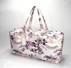 Knitting Bag Wool / Yarn / Craft Storage Bag Pretty Floral Design