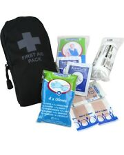 Security Belt First Aid Kit Black Police Doorman Security Guard First Aider