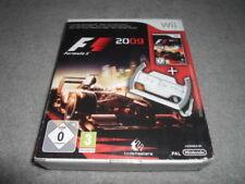 Nintendo Wii F1 Formula 1 uno 2009 Codemasters video juego Box Set