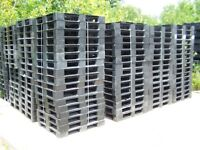 Plastic Pallet,48 L X 40 In W,Red ZORO SELECT 1MCT2
