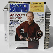 ACOUSTIC GUITAR MAGAZINE STEVE WARINER CHET ATKINS ELVIS PRESLEY JUNE 2012 RARE