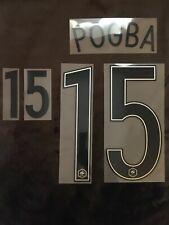 Flocage Officiel FFF Equipe de France football Pogba Away 2016 Name Set