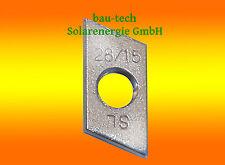 10 plaques de fil M8 Edelstahl A2 / poussée NOIX pour solaire photovoltaïque
