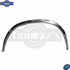 78-87 El Camino REAR Wheel Well Bed Opening Reveal Chrome Trim Molding - RH