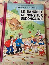 le banquet de monsieur bedondaine eo 1963 les av de sylvain et sylvette fleurus