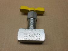 1 NEW MARSH N1511 NEEDLE VALVE STEEL 1000 MAX
