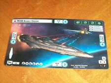 MC80 Assault Cruiser Promo Star Wars Armada Card Alternate Art MC-80 Nice!