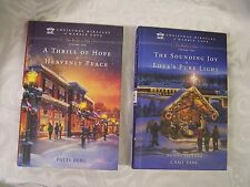 CHRISTMAS MIRACLES OF MARBLE COVE - VOL 1 & 2 (4 STORIES IN 2 HC BOOKS) - VG