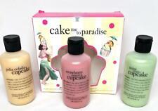 Philosophy Cake MeTo Paradise Mojito Strawberry Daiquiri Pina Cupcake Shower Gel