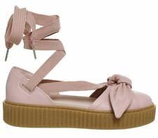 4bf05042d Womens PUMA Creeper Ballet Lace Pink Fenty Flats UK Size 6 EX Display