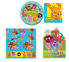 Moshi Monsters 16 Cup 16 Plates 16 Party Invitations & Tablecover  All Sets
