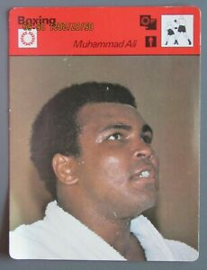 1977 SPORTSCASTERS JAPAN CASSIUS CLAY MUHAMMAD ALI BOXING THE GREATEST