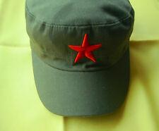 RED - STAR - ARMEE- ARBEITS - MÜTZE - org.  VOLKSBEFREIUNGSARMEE - V.P.  CHINA-B