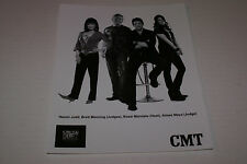 """CAN YOU DUET CMT TV OFFICIAL 8""""X10""""  PROMOTIONAL PICTURE RARE HTF OOP"""