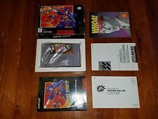 SNES Mega Man 7 Super Nintendo Complete CIB with Box and Manual 1995
