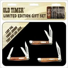 Old Timer 3 Pc Gift Tin    Schrade      SCHOTP1726CP