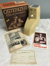 Vintage Oster Osterize Ice Crusher Accessory Attachment 435 Harvest Gold in Box
