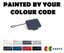 BMW E46 COUPE CABRIO FRONT TOW HOOK TOWING EYE COVER PAINTED BY YOUR COLOUR CODE