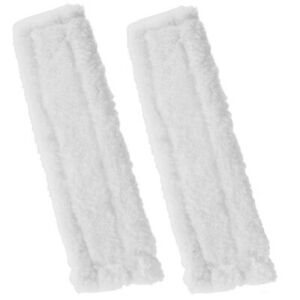 2 To Fit Microfibre Cleaning Pads Cloths For Karcher WV2 WV5 Window Vacuums