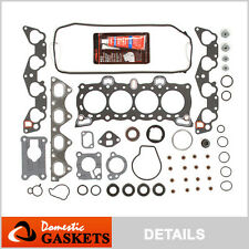 Fit 88-95 Honda CRX Civic De So 1.5 1.6 Head Gasket Set D15B2 D15B7 D15B8 D16A6