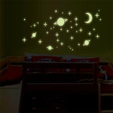 Luminous Wall Sticker Glow In Dark Star Decals Baby Kid Room Wall Decoration HOT