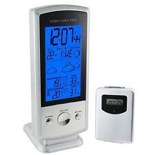 Estación Meteorológica Temperatura Humedad RCC Wireless Sensor Interior Al Aire Libre 1