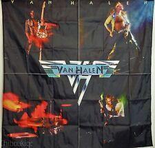 VAN HALEN First album HUGE 4X4 BANNER poster tapestry cd album cover art