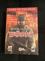 Return to Castle Wolfenstein: Game of the Year Edition Box (Windows PC, 2002)