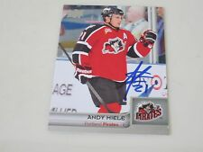 ANDY MIELE AUTOGRAPHED 2014 UPPER DECK AHL HOCKEY CARD
