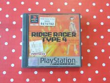 Ridge Racer Type 4 Platinum Playstation 1 PS1 PSX in OVP mit Anleitung