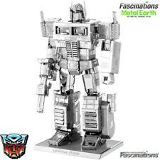 Fascinations Metal Earth Licenced Transformers Optimus Prime Miniature 3d Model