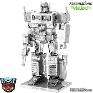 Metal Earth Transformers Optimus Prime 3D DIY Model Building Kit Puzzle Toy