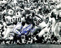 Signed 8x10 RON MCDOLE Houston Oilers Autographed photo - w/  COA