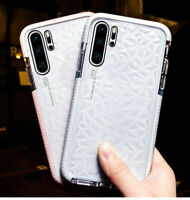 Shockproof Soft Clear Case Diamond Bumper Cover for Samsung Galaxy S10 Plus S9