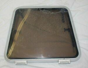 Catalina Bomar 88026660 Low Profile Hatch Tint Window Aluminum Frame Trapezoid