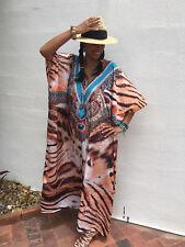 Embellished Kaftans Silk Blend O/S 16-18-20-22-24-26-28 Plus Size Kaftan