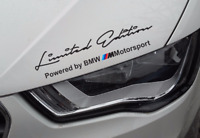 Sports Mind Decal Limited Edition  Stickers Headlight sticker for BMW 350mm