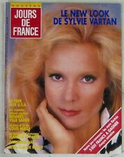 Revue Jours de France Septembre 1987  Sylvie Vartan