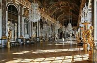 Hall of Mirrors in the Palace of Versailles. Photo Repro Prints Canvas or Paper